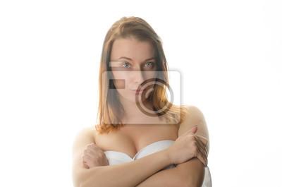 Schöne nackte Mädchen