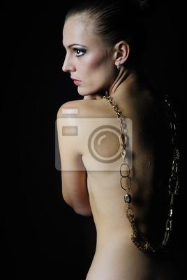 Schöne nakte mädchen