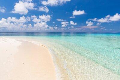Bild Schöne Ozean Strand auf den Malediven