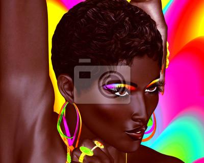 Frauen Große schwarze schöne Die schönsten
