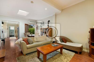 Bild Schöne Wohnzimmer Architektur Stock Fotos