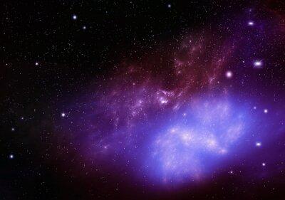 Bild Schönen Hintergrund des Nachthimmels tiefen Weltraum