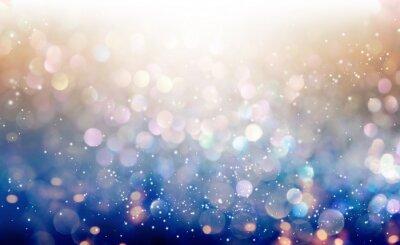 Bild Schönes abstraktes glänzendes Licht und Glitterhintergrund