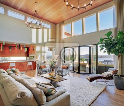 Bild Schönes Wohnzimmer in New Modern Home