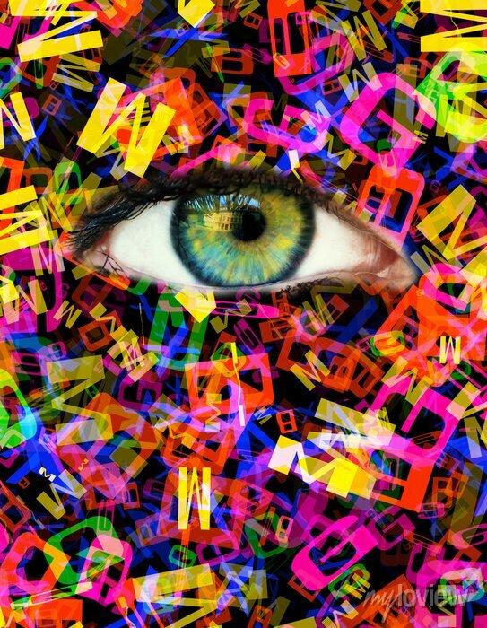 Bild Schreiben Eye