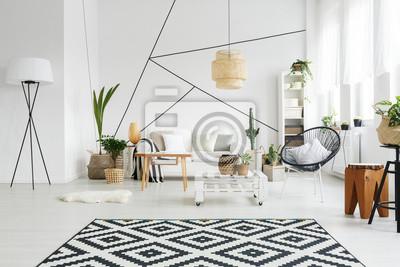 Bild Schwarz-Weiß-Dekor