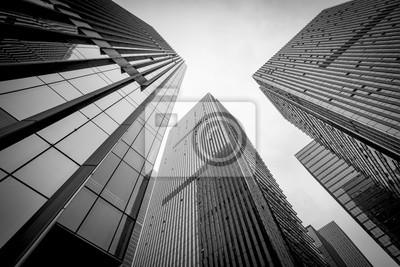 Bild Schwarz-Weiß-Gebäude