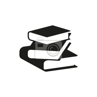 Bild Schwarze Buch einfache Symbol