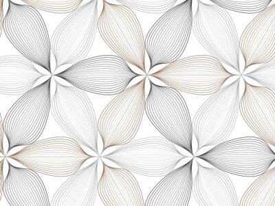 bild schwarze linie grafische muster abstrakte vektor hintergrund moderne stilvolle textur - Grafische Muster