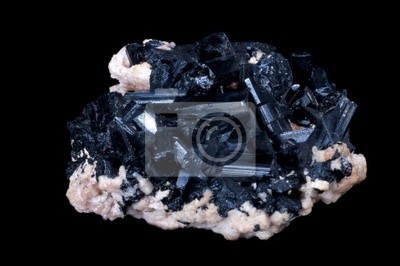 Bild schwarze Turmalin Stein