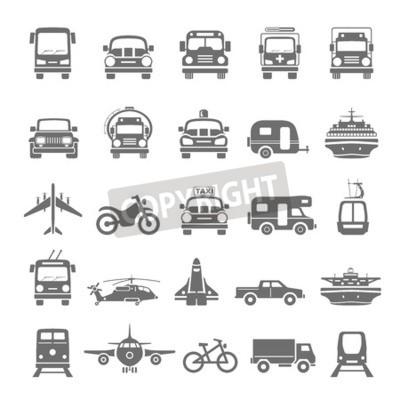 Bild Schwarzer Ikonen-Transport