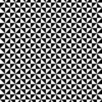 Schwarzweiss-Dreiecksmuster