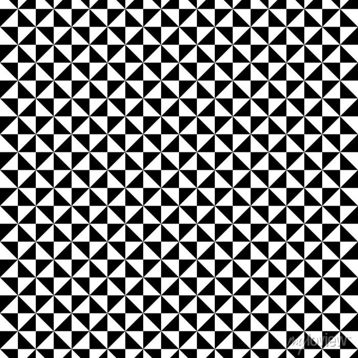 Bild Schwarzweiss-Dreiecksmuster