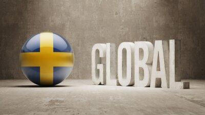 Schweden. Globales Konzept.