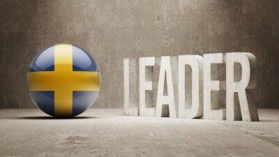 Schweden. Leader-Konzept.