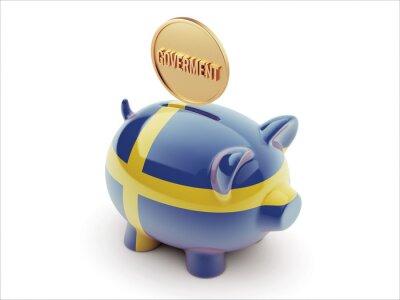 Schweden Piggy Konzept