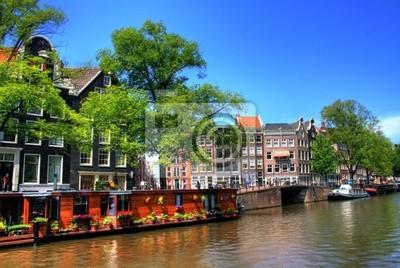 Bild Schwimmende Häuser in Amsterdam