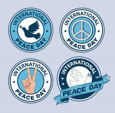 Bild seals of international peace day