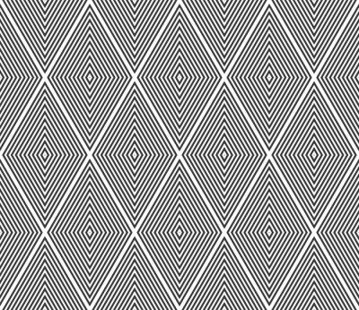 Seamless diamonds pattern. Geometric texture.