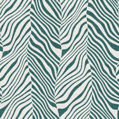 Bild Seamless funky wavy chevron strip pattern for surface print.