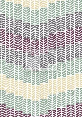 Seamless Retro-Muster Arrows