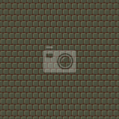 Seamless vector graphic texture from rounded squares.