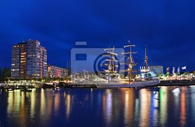 Segelschiff im Kieler Hafen