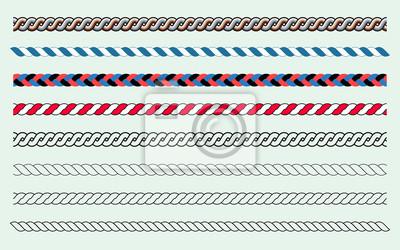 Bild Seilbürsten und Linien