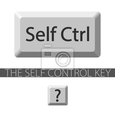 Selbststeuerungstaste. Der Schlüssel Grafik kann separat verwendet werden.