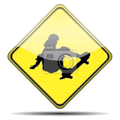 Señal Skateboarding