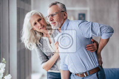 Bild Senior couple at home