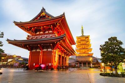 Bild Senso-ji Temple at Asakusa area in Tokyo, Japan