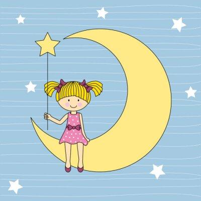 Bild Sentada Niña de la luna