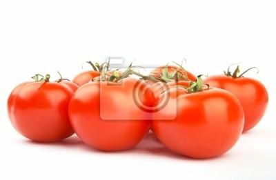 Bild Set reif und saftig rote Tomaten. XXL