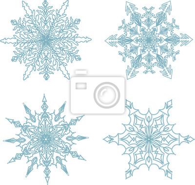 schneeflocken zeichnen
