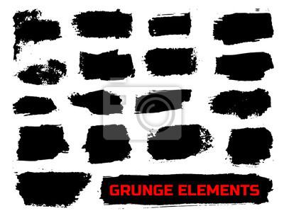 Bild Set von Grunge-Banner.