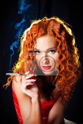 Rote haare schwarz Rote Haare