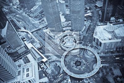 Shanghai - Vue aérienne