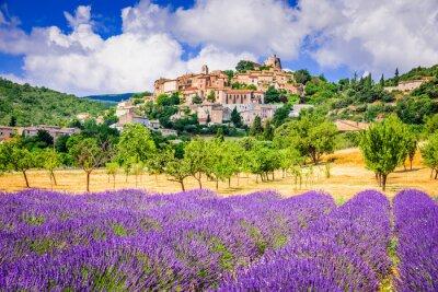 Bild Simiane-la-Rotonde, Provence in France