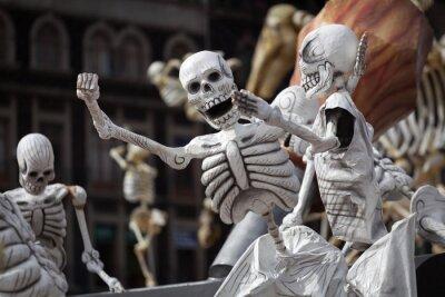 Bild Skelette der traditionellen Tag der Toten, Mexiko