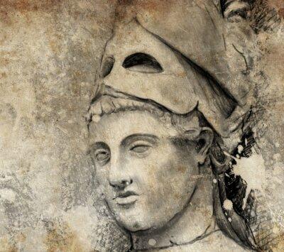 Bild Sketch mit digitalen Tablette der allgemeinen pericles gemacht