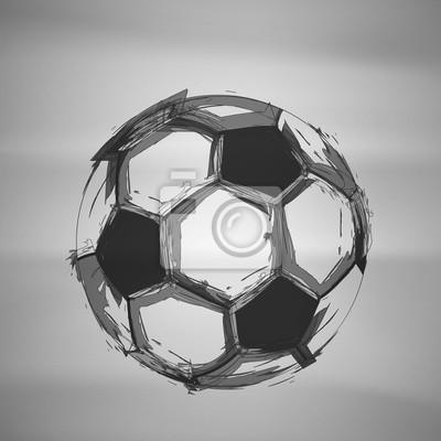 Sketch Soccer Vektor