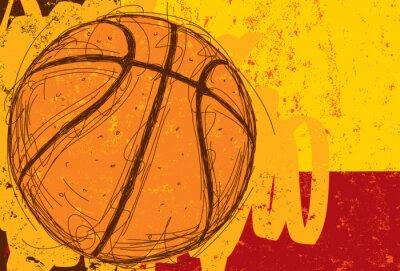 Bild Sketchy Basketball Background