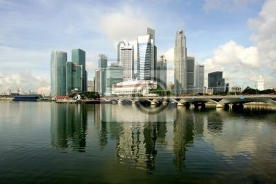 Bild Skyline der modernen Geschäftsviertel, Singapur