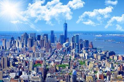 Bild Skyline von Manhattan