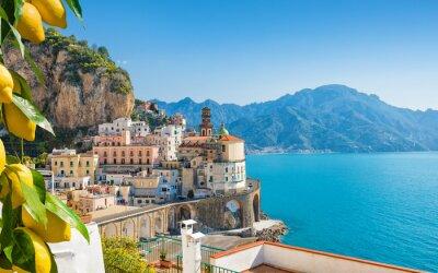 Bild Small city Atrani on Amalfi Coast in province of Salerno, in Campania region of Italy