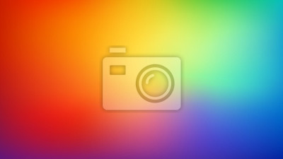 Bild Smooth and blurry colorful gradient mesh background. Modern bright rainbow colors. Easy editable soft colored vector banner template. Premium quality.