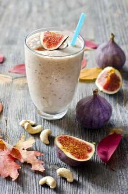 Bild Smoothie with figs and cahew