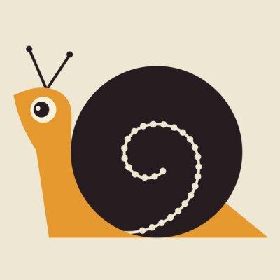 Bild Snail Vector Illustration
