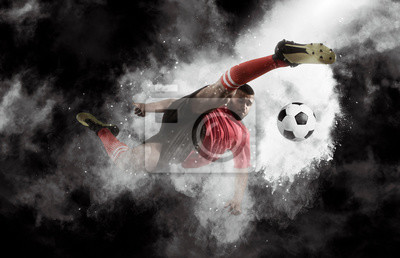 Bild Soccer player in action